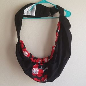 Balboa Baby Red and Black Ring Sling